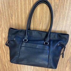 Kate Spade Black Soft Leather Shoulder Bag